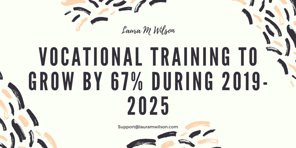 Vocational Training to Grow by 67% During 2019-2025