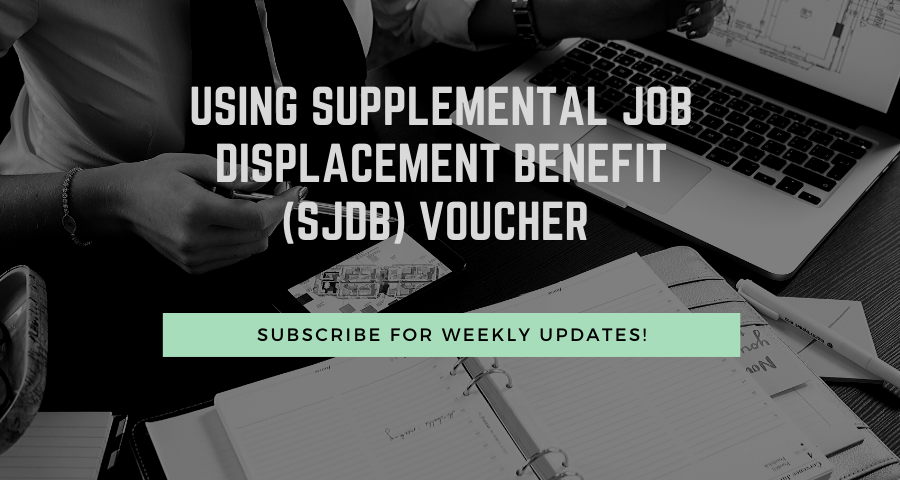 Using Supplemental Job Displacement Benefit (SJDB) Voucher